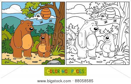 Coloring Book (bears)