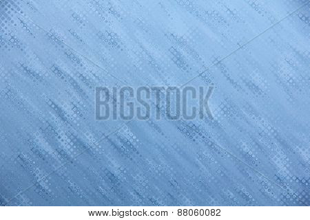 Blue Drips Texture Pattern As Abstract Background.