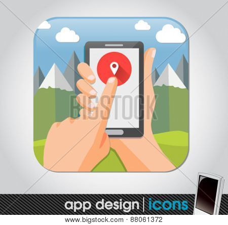 geo location app for mobile devices