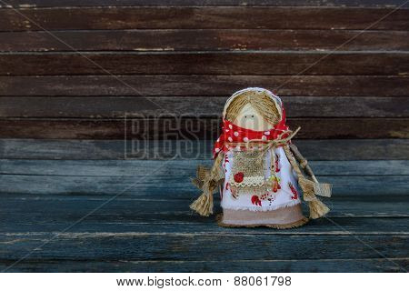 the doll, toy made in the Ukrainian style