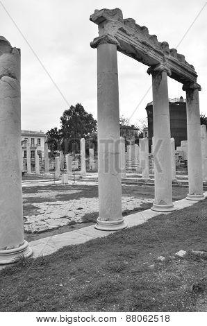Roman Agora Ruins