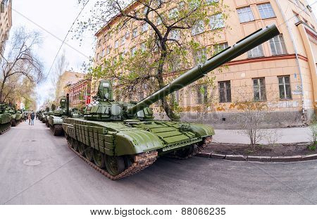 Main Battle Tank T-72