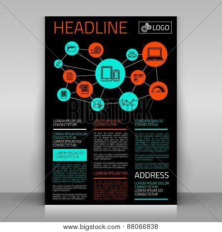 Black Business Flyer.