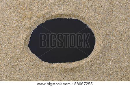 Copy Space On Beach.