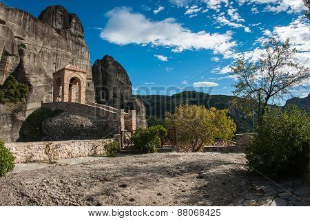 Monastery Of St. Nikolas In Meteora, Greece