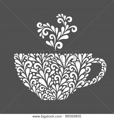 Floral Cup.