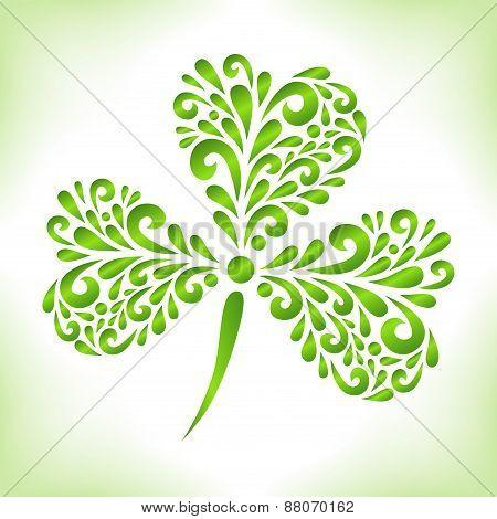 Green Shamrock.