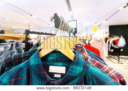 fashion clothes shop interior