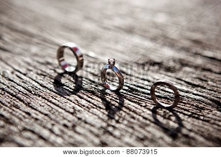 bands rings-wedding engagement anniversary eternity