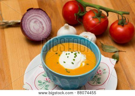 Fresh Soup - Stock Image