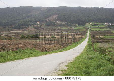 Rural Road Outdoors