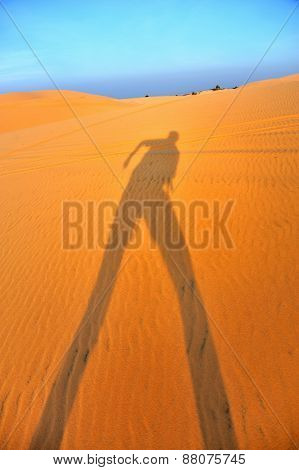 A Shadow On The Sand
