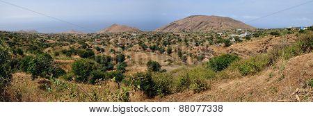 Farmland in Fogo