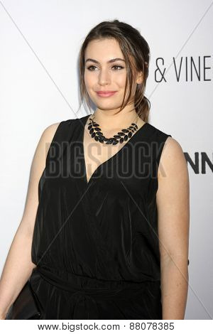 LOS ANGELES - FEB 15:  Sophie Simmons at the