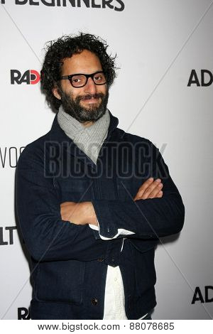 LOS ANGELES - FEB 15:  Jason Mantzoukas at the