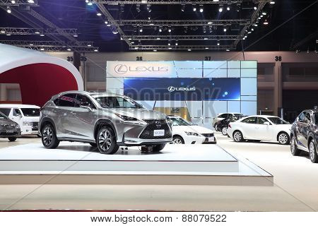 Bangkok - March 25: Lexus Nx300H Car On Display At The 36 Th Bangkok International Motor Show On Mar