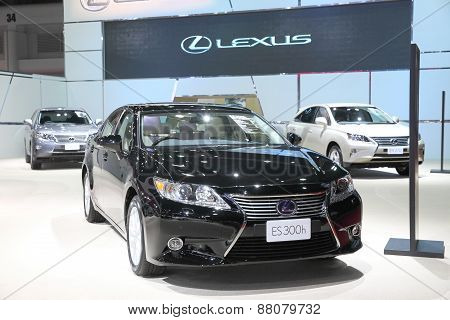 Bangkok - March 25: Lexus Es 300H Car On Display At The 36 Th Bangkok International Motor Show On Ma