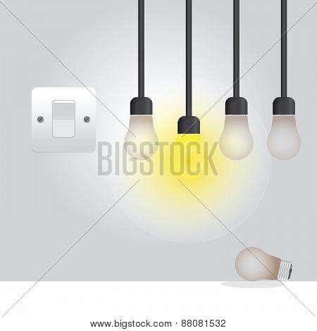 Light Bulb in the room