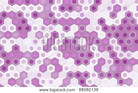 Purple Hexagon Vector Background Design.geometric Background.