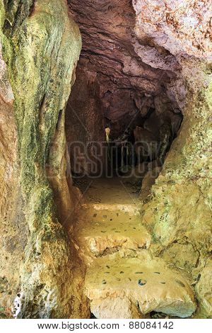 Phra Nang Cave  On Railay Island Krabi