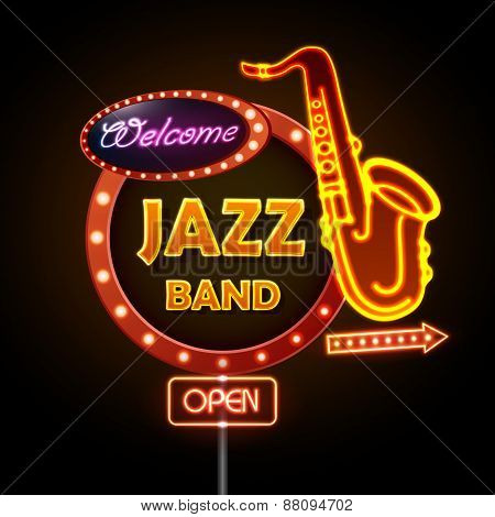 Neon Sign Jazz Band