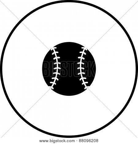 baseball ball symbol