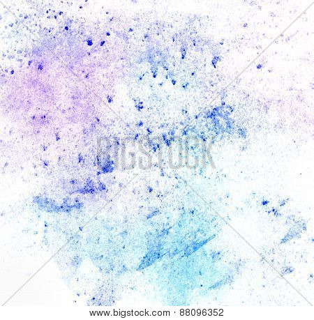 Watercolor Texture In Pastel Tones.