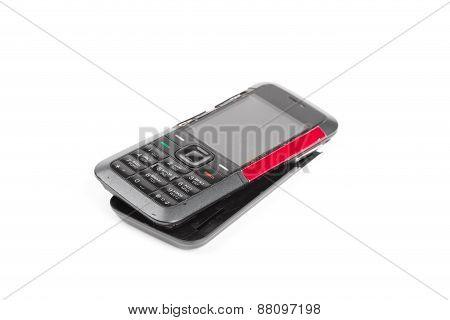 Broken Dirty Cell Phone