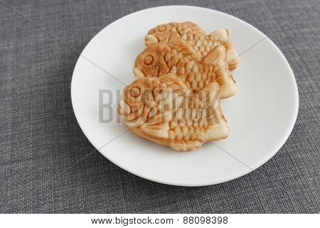 Japanese confectionery, Taiyaki Fish pancake