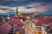 picture of neo-classic  - Image of historic downtown of Nuremberg - JPG