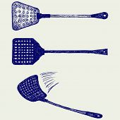 picture of gnats  - Fly swatter - JPG