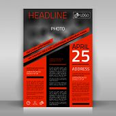 picture of text-box  - Business flyer design - JPG