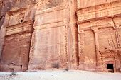 picture of square mile  - Petra, Lost rock city of Jordan. Petra
