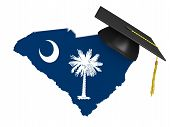 picture of academia  - Conceptual image for higher learning at a college or university level in the US state of South Carolina - JPG