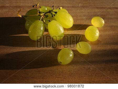 Fruit. Summer grapes