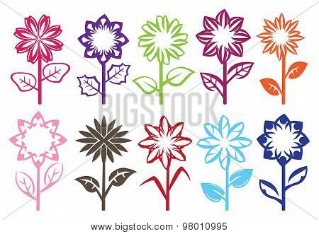 Flower Bloom Vector Design