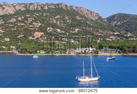 Coastal Landscape Of Porto-vecchio Bay, Corsica