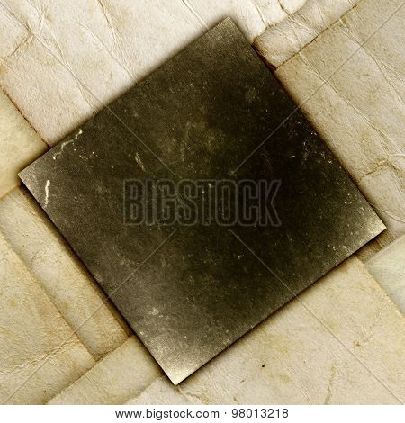 Folded grunge paper, vintage background