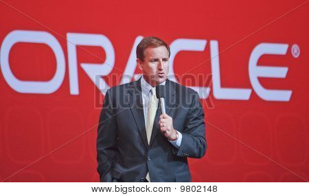 San Francisco, Ca, Sep 22 - Oracle President Mark Hurd Makes Speech At Oracle Openworld Conference I