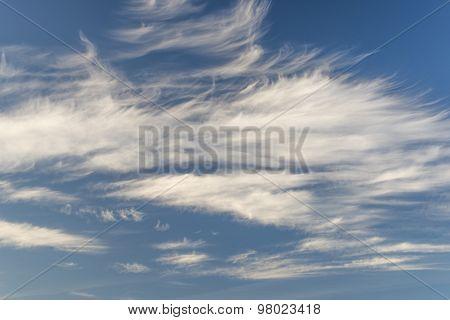 Cirrus Uncinus Clouds