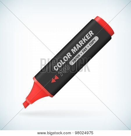 Realistic Color Marker Pen