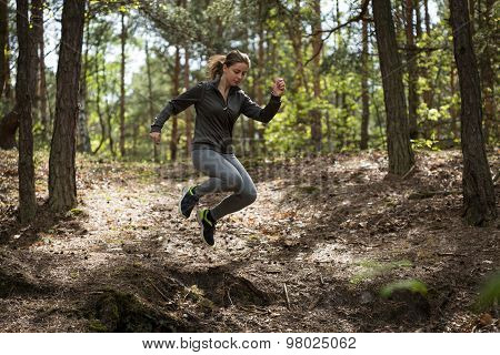 Jumping During Jogging