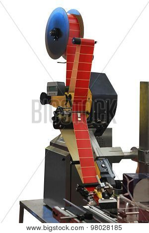D Labeling Machine