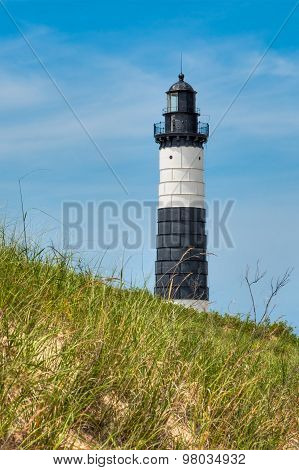 Big Sable Point Lighthouse And Dune