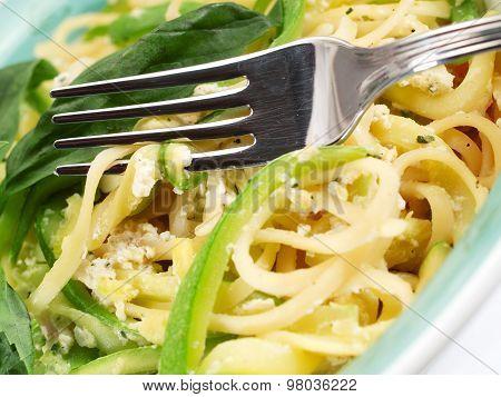 Pasta Collection - Linguini With Zucchini