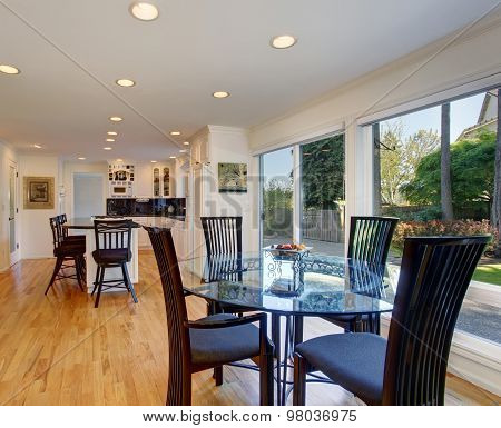 Luxury Kitchen With Great Lighting, Anf Floor.