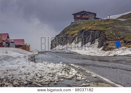 Dismal Mountain Landscape