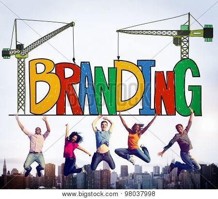 Branding Market Name Strategy Trademark Concept