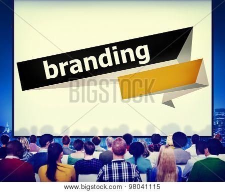 Branding Brand Trademark Identity Advertising Label Concept