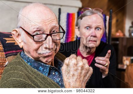 Tough Elderly Couple